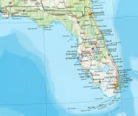 florida map and florida satellite images