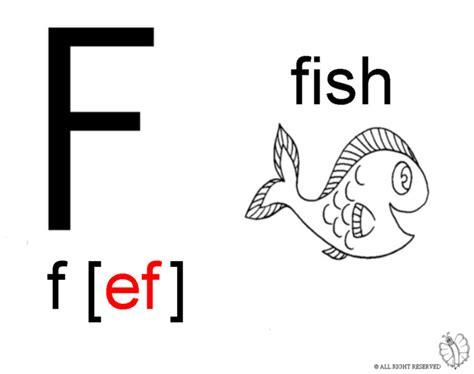 disegni da colorare lettere alfabeto sta disegno di lettera f alfabeto inglese da colorare