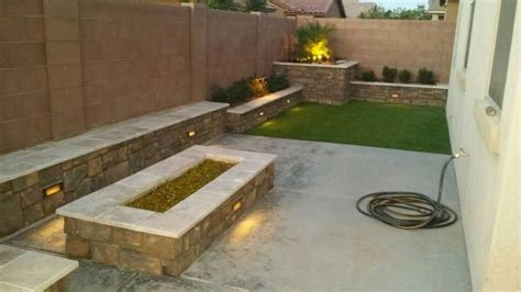 firepits fireplaces valley view landscaping