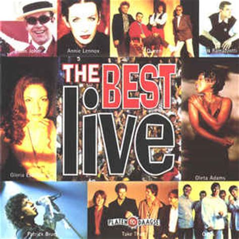 format live cd various the best live cd at discogs
