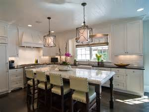 White Kitchen Island Lighting Large Kitchen Window Treatments Hgtv Pictures Ideas Kitchen Ideas Design With Cabinets