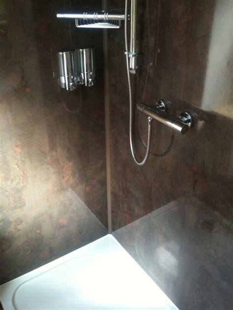 Shower Panels Instead Of Tiles by Mint Plumbing Bathrooms Ltd 100 Feedback Bathroom
