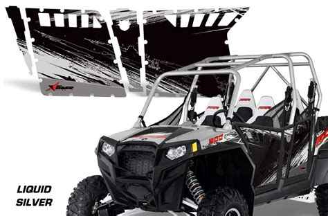 polaris home design inc amr racing door graphics kit for polaris rzr4 900 900xp