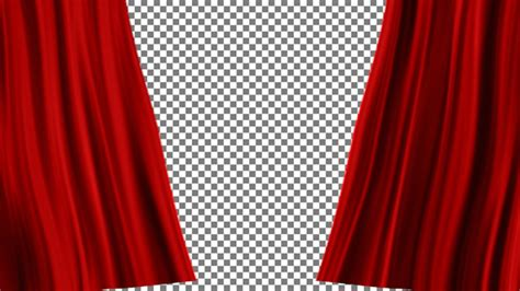 What Is A Curtain Raiser Motion Graphic Videohive Red Curtains Open 10425195