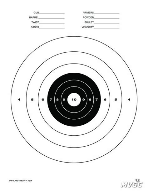 printable targets for handguns printable pistol targets 8 5 x 11 printable 8 5 x 11