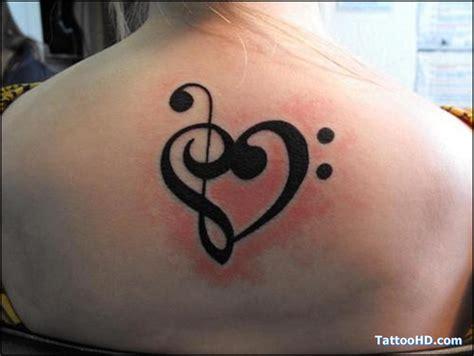 tattooed heart music video music clef heart tattoo heart tattoos