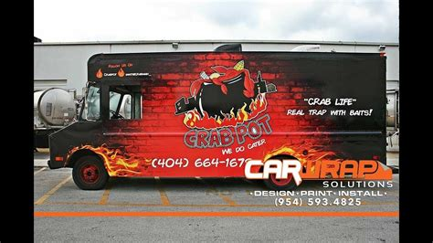 graphic design food truck food truck wrap graphic design print installation by