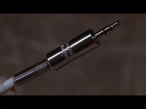 Ammoon Lifier Gitar 6 5mm Dengan Headphone 3 5mm tutorial cara membuat kabel gitar solder phim clip