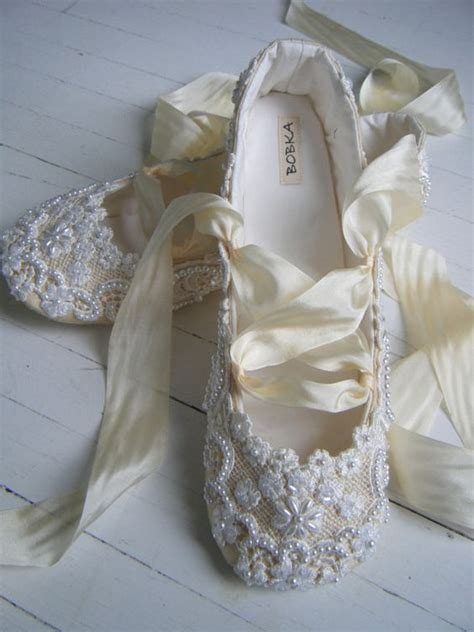 diy ballet shoes add diy www customweddingprintables chagne