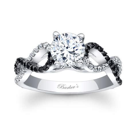 barkev s black engagement ring 7714lbk