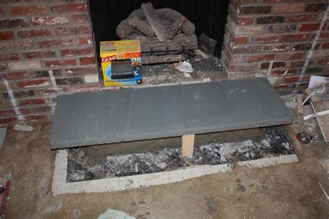 Flagstone Fireplace Hearth by Bluestone Hearth Voidsmith