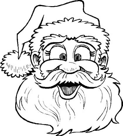 dibujos de navidad para colorear de santa claus dibujos para colorear santa claus dibujos para cortar y