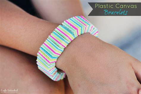 How to: Plastic Canvas DIY Bracelets