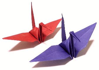 History Of Origami Cranes - crane history and legend