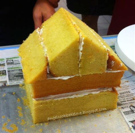 cook bake love richard goh s cake deco class 5 how to make 3d house cake