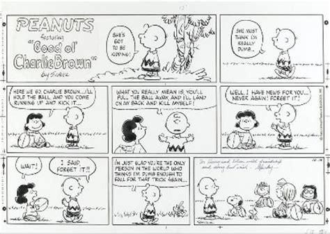 St Snoopy Stripe charles schulz peanuts sells for 25 000 at bonhams