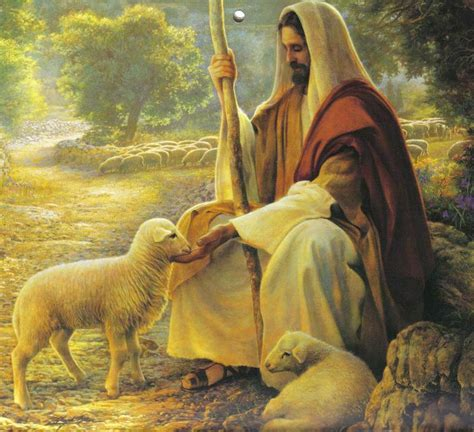 a portrait of the artist as a books jesus pictures my shepherd