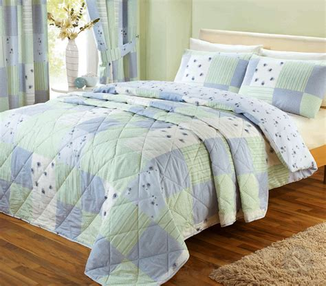 Patchwork Quilt Covers - vintage patchwork quilt cover floral bedding poly cotton