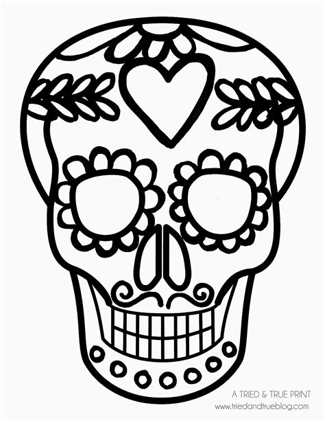 Day Of The Dead Drawings Easy by Easy Calavera Mask And Mustache D 237 A De Los