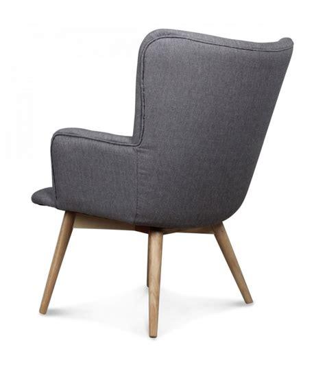 fauteuil gris fauteuil gris taupe design scandinave wadiga