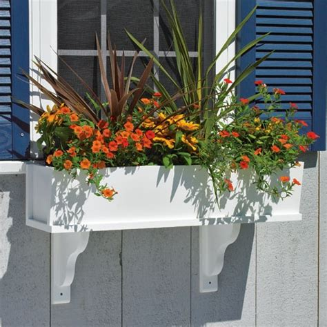 wooden window box planters plans to build your own wooden window flower box