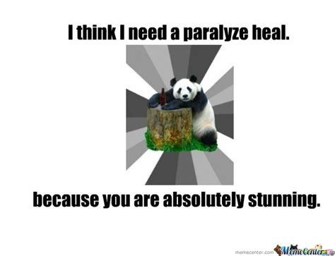 Pick Up Line Panda Meme - pick up line panda meme