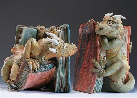 dragon bookends cute dragon bookends cute things pinterest