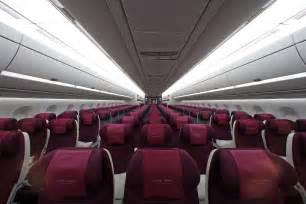 Qatar Airways Interior by Qatar Airways Showcase New A350 Interiors Thedesignair