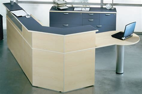 administrator s custom reception desk