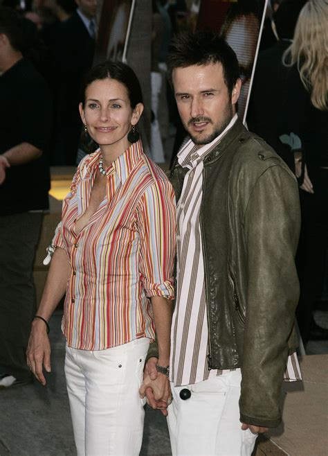 Lepaparazzi News Update Cox And David Arquette Up Rumors by David Arquette And Courteney Cox Two Of A Matchy