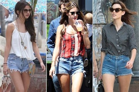 Who Wore It Better High Waisted by Who Wore The Cutest Cut Shorts Selena