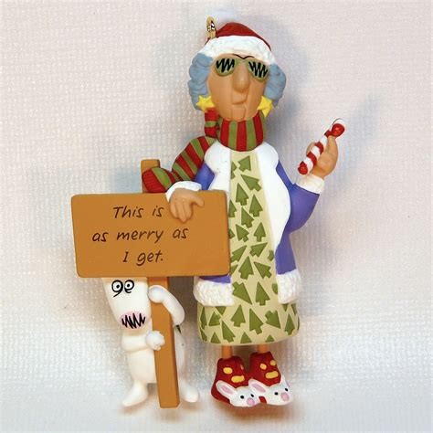 hallmark maxine 1996 christmas ornament qx6224 this is as
