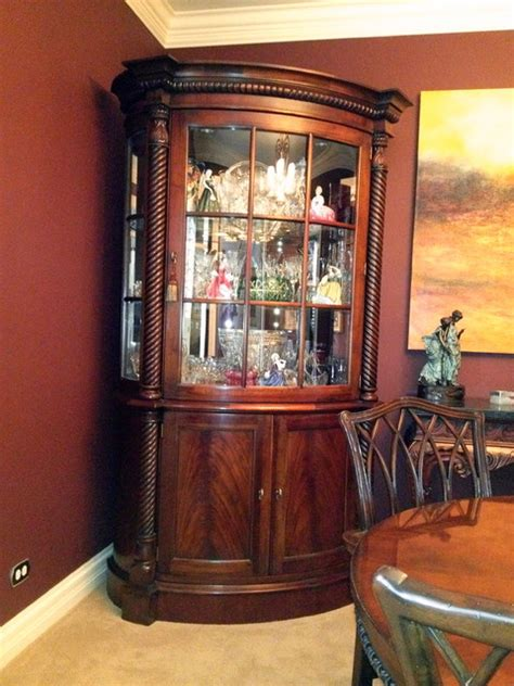 china cabinets traditional dining room atlanta