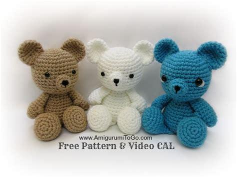 free crochet pattern on youtube crochet bear video tutorial youtube