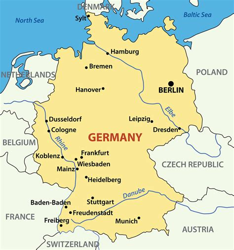 cities in germany germany map guide of the world