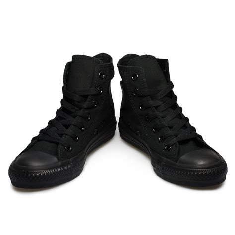 all black high top sneakers converse all black hi tops mens womens trianers