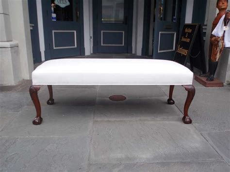 knee bench english mahogany upholstered shell knee bench circa 1840 for sale at 1stdibs