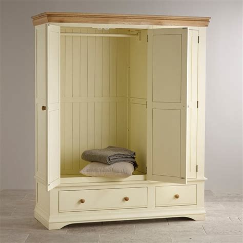 country cottage oak wardrobe painted