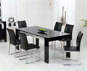 extending dining table and six chairs images