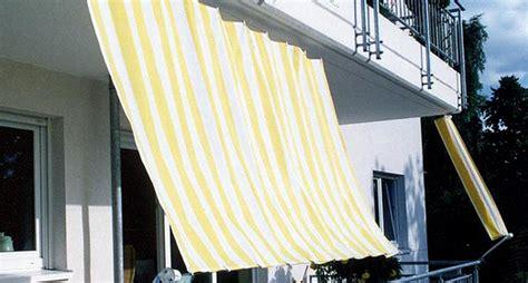 balkon markise senkrecht sonnenschutz balkon sonnensegel markise