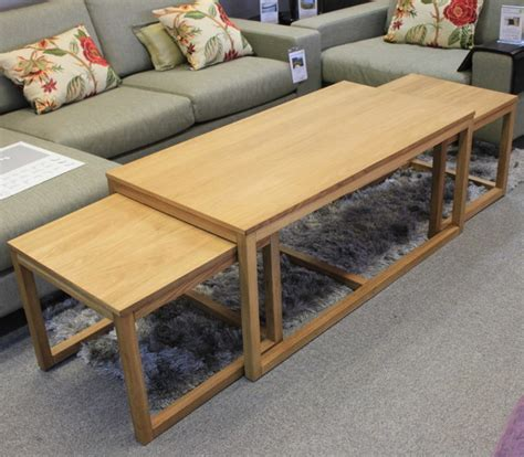 nottingham oak coffee table set