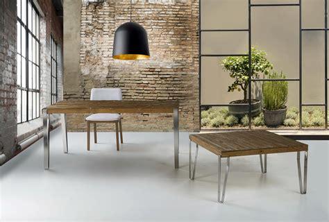 mesas comedor estilo industrial  ecopin muebles antonan