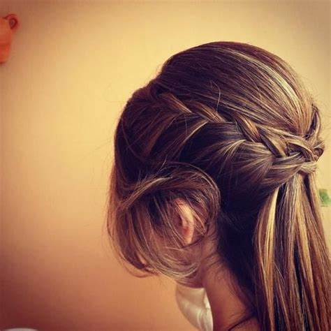 hairstyles for putting you hair down half up half up half down and braids on pinterest