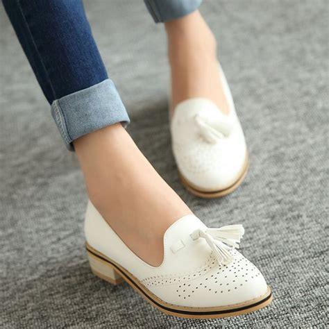 free shipping 2015 comfortable low heeled fashion vintage