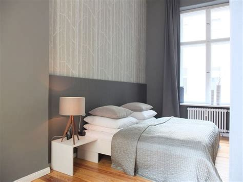 schlafzimmer ideen sterne wand grau halb abgesetzt schlafzimmer