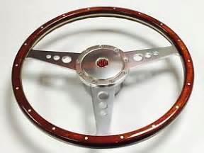 Mga Steering Wheel For Sale Mga 15 Inch Classic Wood Steering Wheel Ebay
