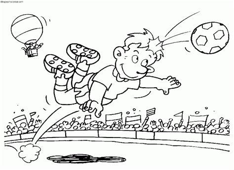 imagenes de niños jugando sin colorear dibujos de f 250 tbol para colorear