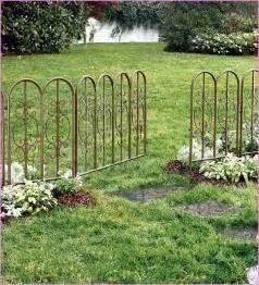 Ideas For Decorative Garden Fence Decorative Garden Fence Panels Home Design Ideas