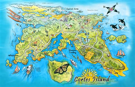 island map island maps our cortes