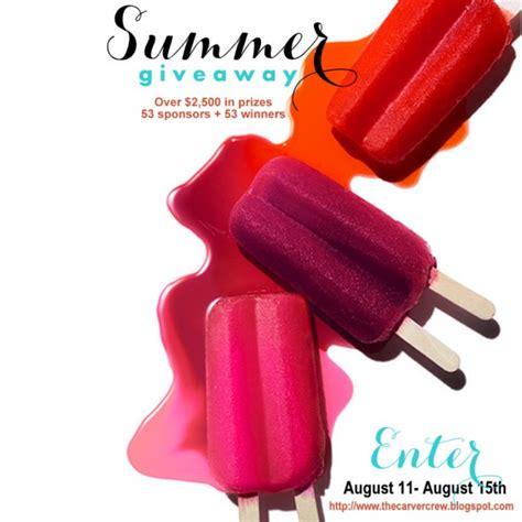 Huge Summer Giveaway - huge summer giveaway contest anders ruff custom designs llc